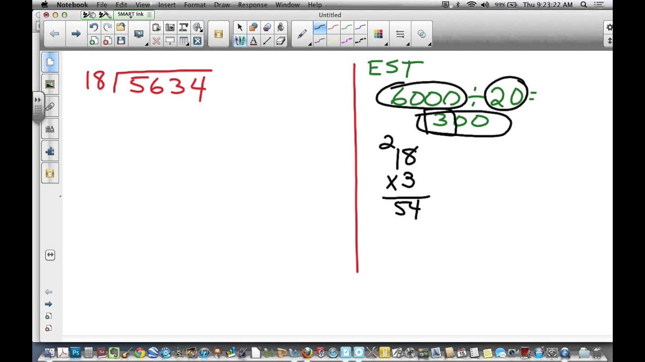 Long Division With 2 Digit Divisor 2 6 Hw Review