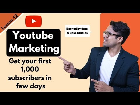Lesson-11: Youtube Marketing explained in 13 minutes (Backed by data) | Ankur Aggarwal