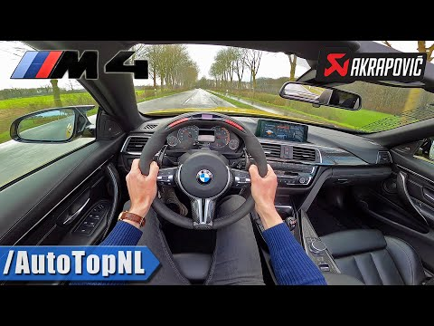 BMW M4 WIDEBODY | AKRAPOVIC STRAIGHT PIPE | *INSANELY LOUD* POV By AutoTopNL