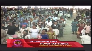 MFM Prayer Rain Friday December 14, 2018