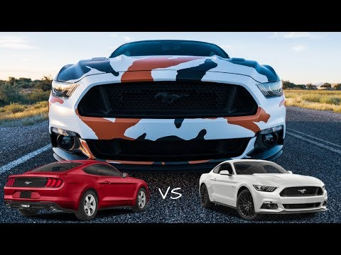 Should you buy a Mustang GT or a Mustang Ecoboost?