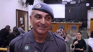 Jornal Acontece - Diploma de Honra ao Mérito ao Subtenente Camargo