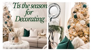HOLIDAY HOME DECOR 2019 | DECORATE WITH ME!