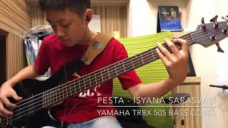 Pesta - By Isyana Sarasvati (bass cover)