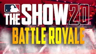 MLB The Show 20 - Battle Royale *CRAZY GAME*