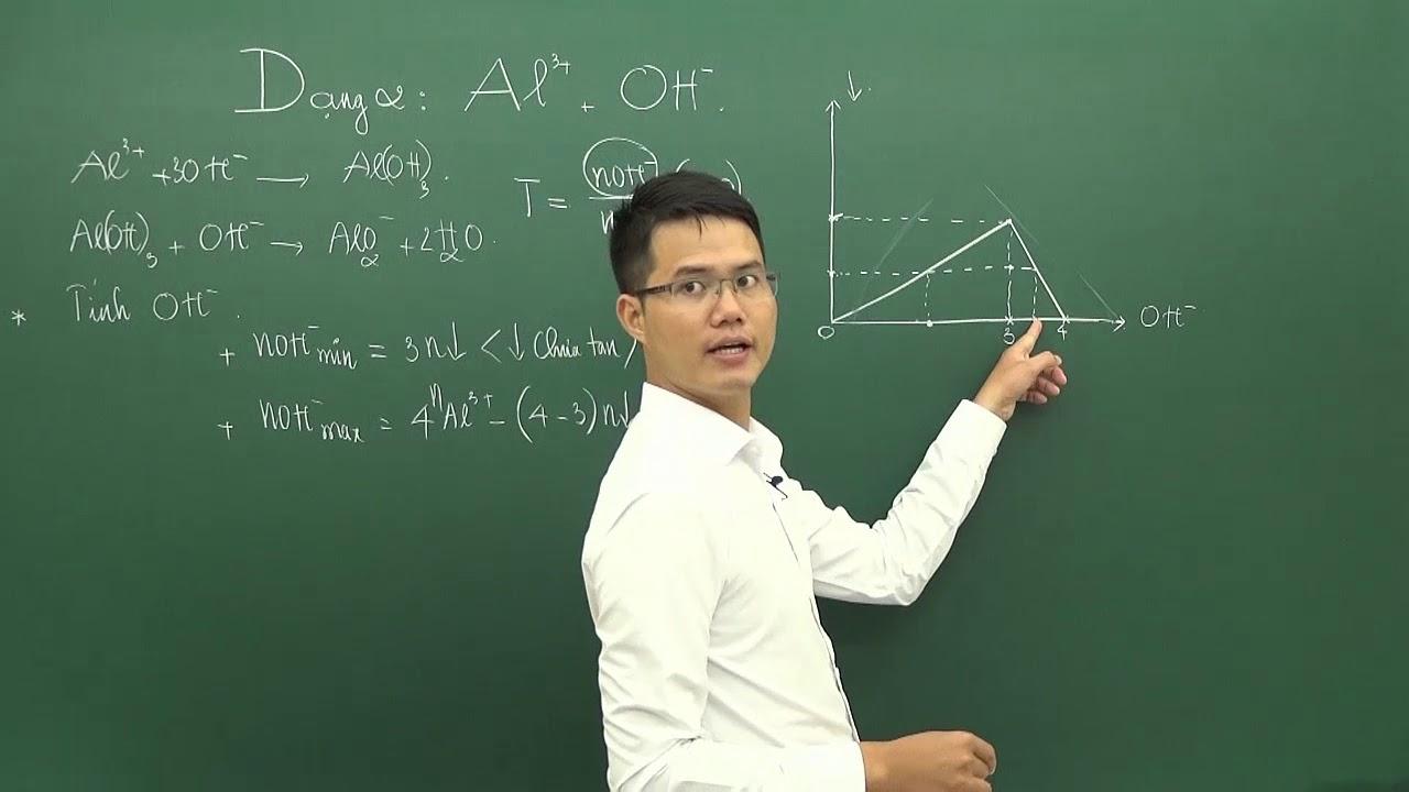 Dạng bài tập  AL3+ và OH -, Ôn thi THPTQG Hóa học