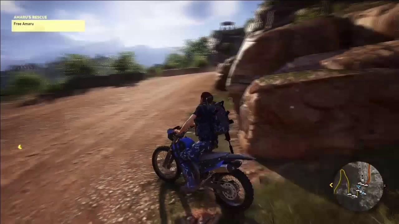 Ghost Recon Wildlands Motorbike Madness Youtube