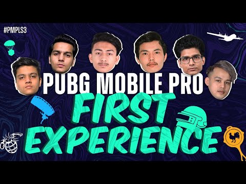 PUBG MOBILE Pro League South Asia Pro's First Time playing PUBG MOBILE!