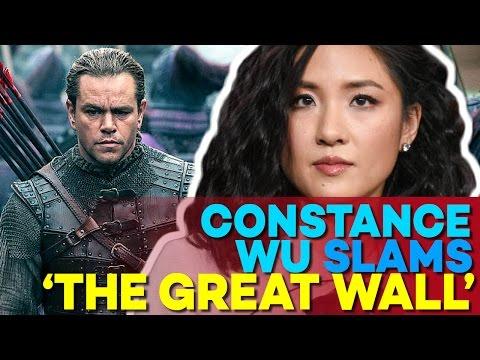 Is Matt Damon WHITEWASHING In The Great Wall Movie? Constace Wu Thinks So