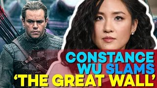 Is Matt Damon WHITEWASHING in The Great Wall Movie? Constace Wu Thinks So