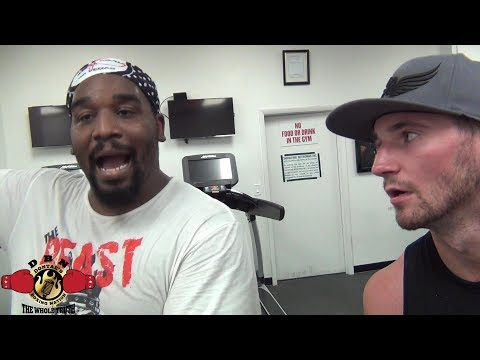 """""""BRONER MIGHT STOP GARCIA. BRONER BETTER THEN PEOPLE THINK"""" SAYS HEAVYWEIGHT MARCELLUS WILLIAMS"""