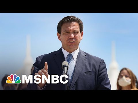 Gov. DeSantis Shuts Out Reporters From Election Bill Signing   MSNBC