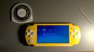 Como arreglar PSP que no lea discos