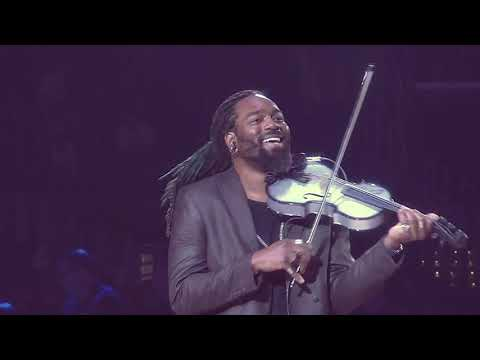 D - Sharp LA Clippers Black History Month Amazing Violinist Performance