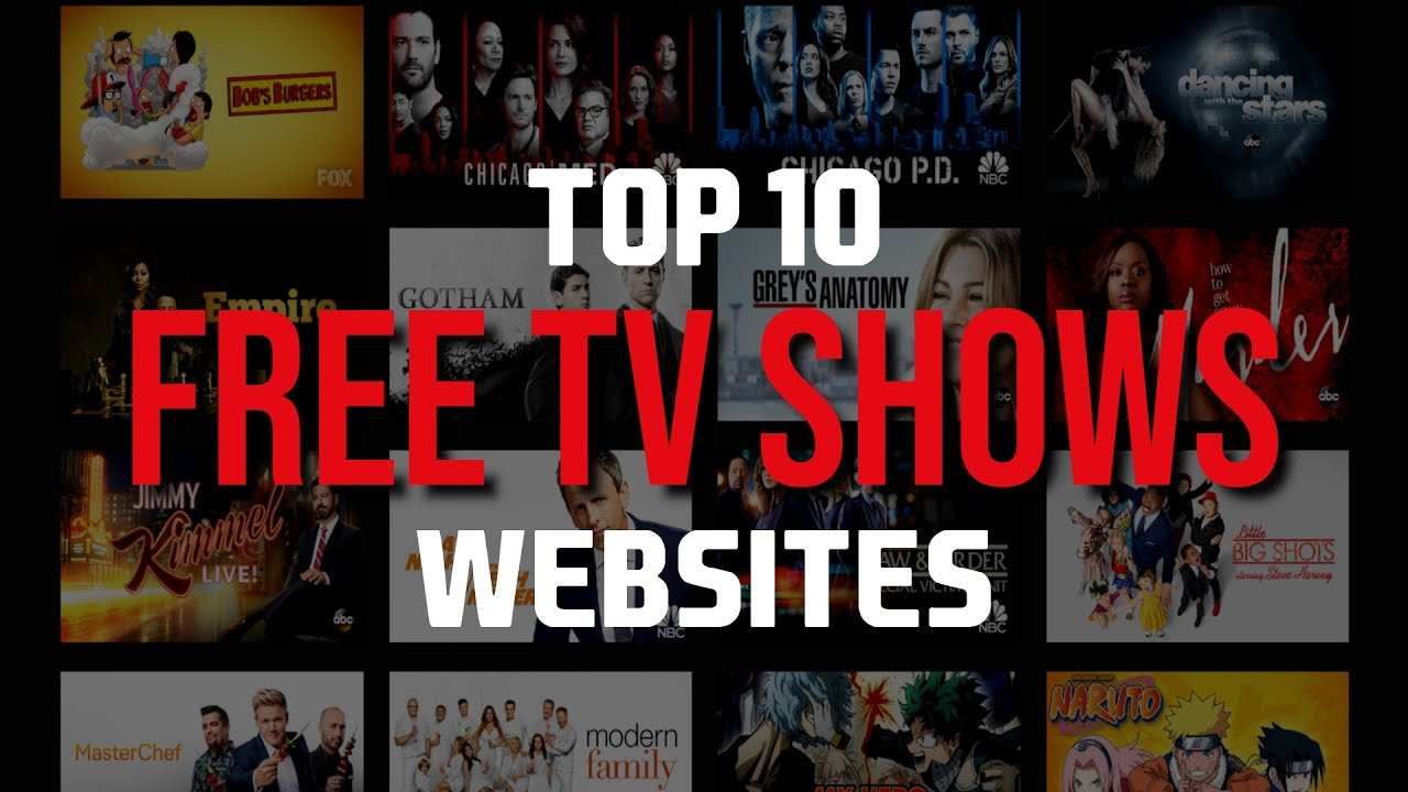 best free online tv series streaming sites