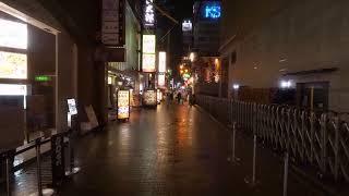 【Live】Back to Dotonbori. Rainy night.