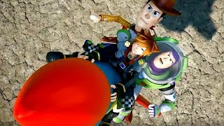 KINGDOM HEARTS 3 - NEW Gameplay Walkthrough No Commentary Demo Toy Story 2018 (PS4)
