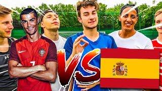 RONALDO VS SPANIEN WM TRAUMTORE CHALLENGE!