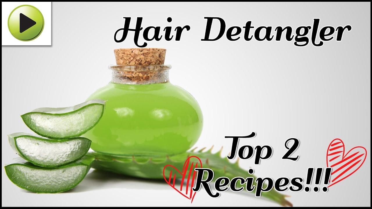 DIY Hair Detangler - YouTube