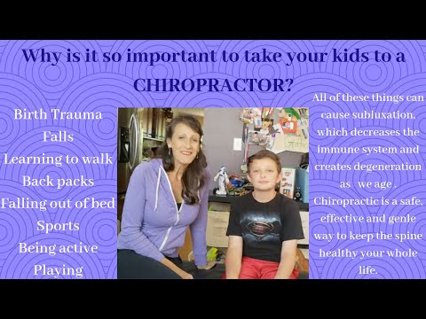 Why is is so important to take your kids to a Chiropractor?