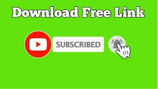 Top 10 || Green Screen Animated Subscribe Button || Free Download link | Green Screen Effects