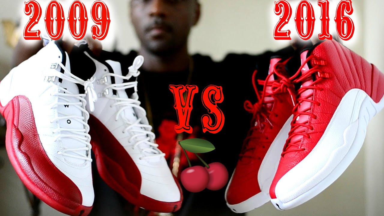 c9abe472d7f 2009 CHERRY vs. 2016 ALTERNATE Jordan 12 Comparison / Which 1 do you choose?