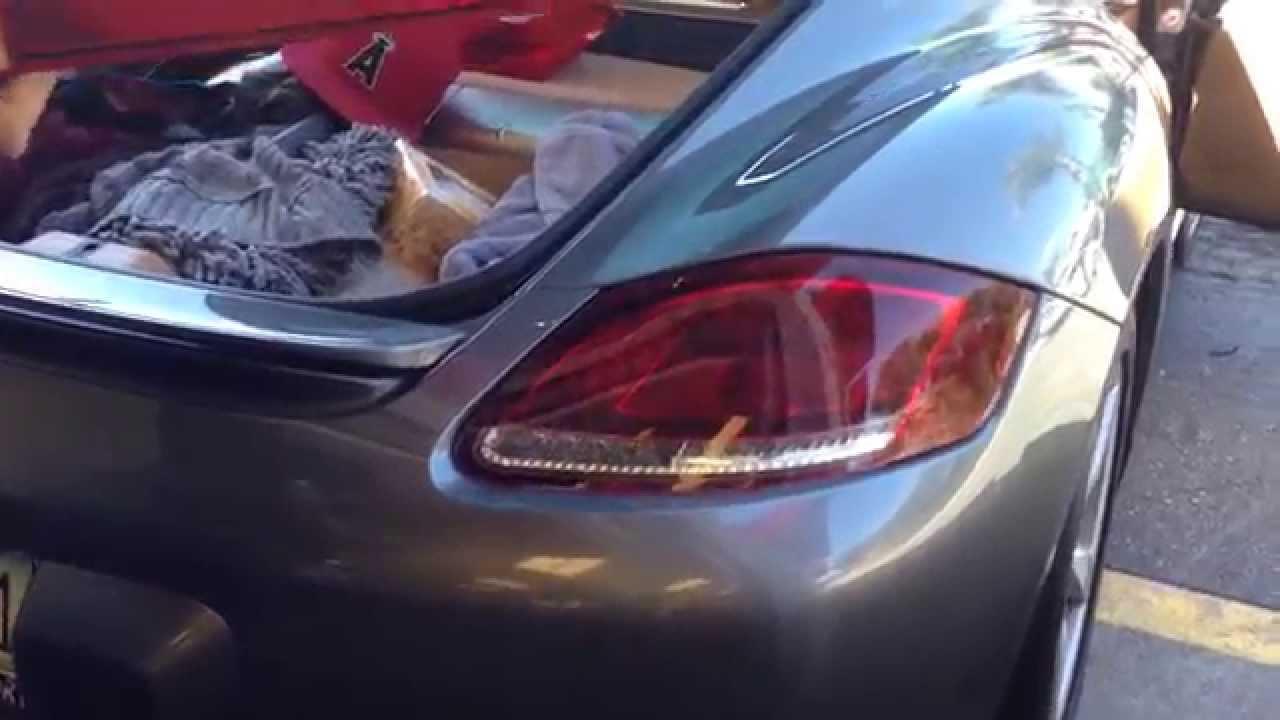 Porsche 987 Custom LED Tail Lights Comparison to Stock ...