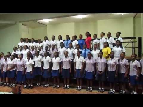 "Girls' College Bulawayo Senior Choir, National Sing Up Day Anthem, ""I'm Still Singing"""