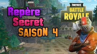 👾 Secret Landmark! Fortnite Battle Royal [Season 4 ☄]