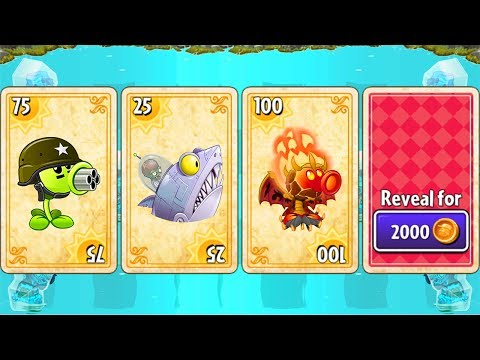 Plants vs Zombies 2 Big Wave Beach - Tiki Torch-er: Level 1-10