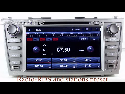 8 2007 2008 2009 2010 toyota camry radio dvd navigation. Black Bedroom Furniture Sets. Home Design Ideas