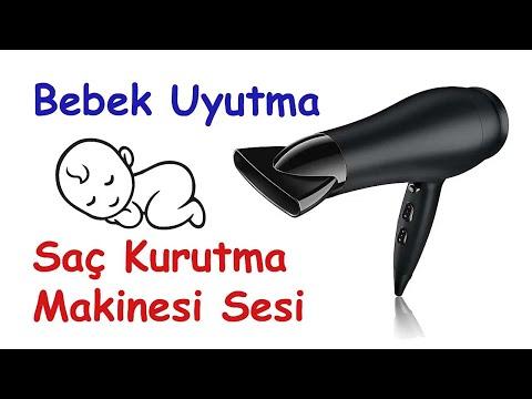 Bebekleri Uyutan Saç Kurutma Makinesi Sesi YENİ !!!