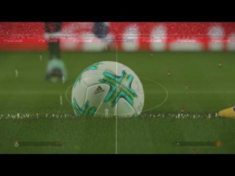PES 2018 Master League UEFA Super Cup Walkout