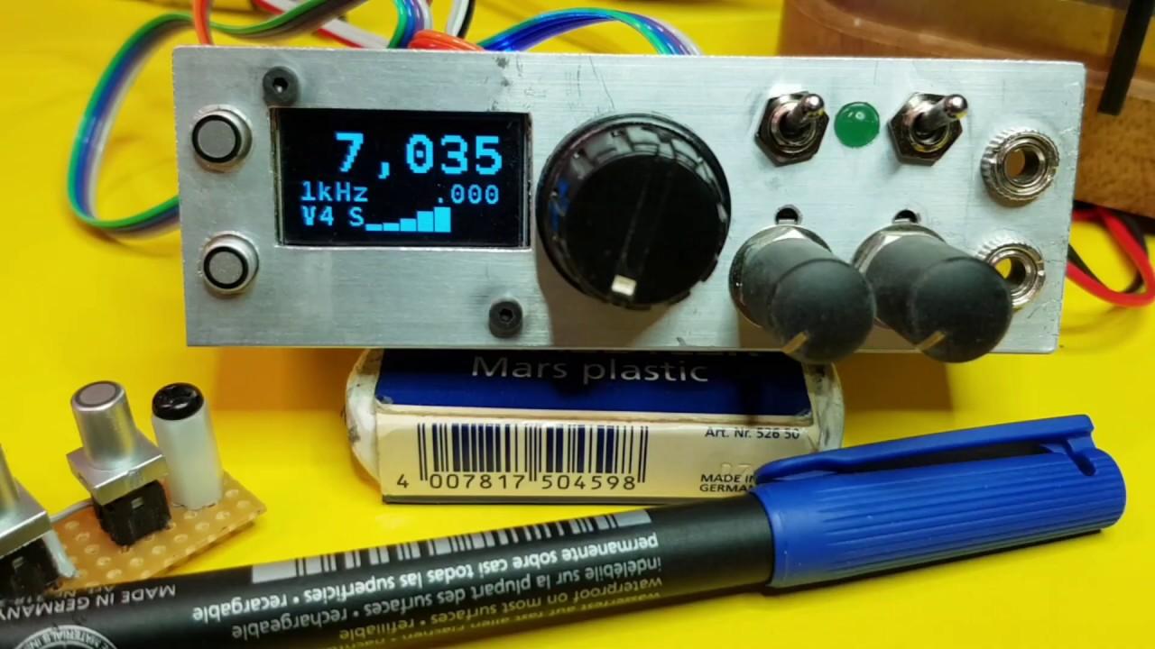 Compact Arduino, si5351 VFO/BFO/CW CO/Controller/Keyer