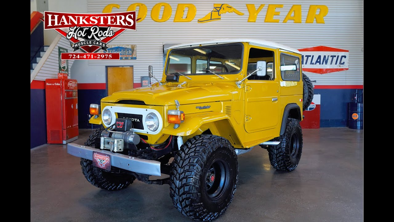 1975 Toyota Land Cruiser Fj40 Youtube