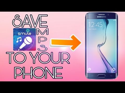 How To Download Smule Songs Directly To Your Phone Storage