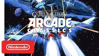 Konami Arcade Classics Anniversary Collection - Launch Trailer - Nintendo Switch