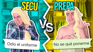 Secundaria vs Preparatoria