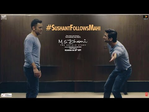 Thumbnail: M.S.Dhoni - The Untold Story | Sushant Follows Mahi | Special Video 3