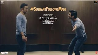 msdhoni the untold story sushant follows mahi special video 3