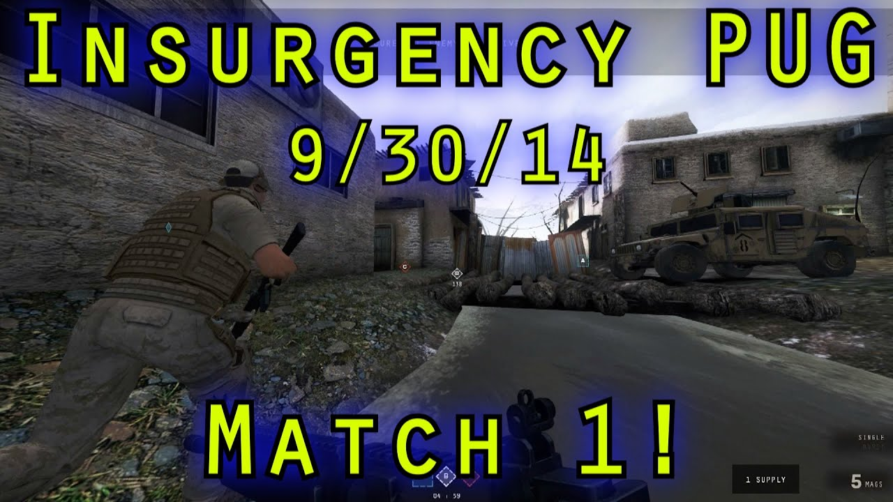 insurgency competitive matchmaking Insurgency 5on5 firefight spring season 2016 x how to participate how to play a match get your rewards  server must be running official esl insurgency competitive theater and.