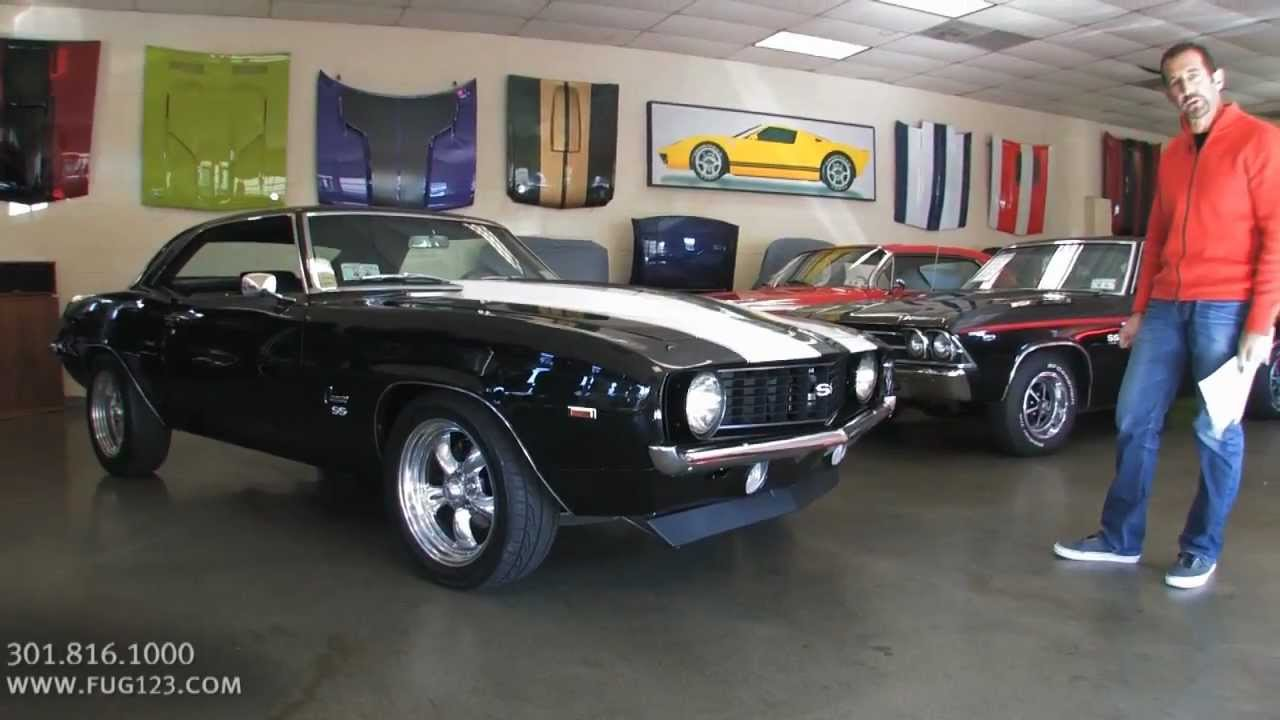 1969 chevrolet camaro ss 577 for sale flemings with test drive and walk through video youtube. Black Bedroom Furniture Sets. Home Design Ideas