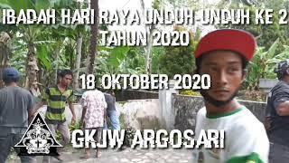 Ibadah Unduh-unduh ke-2 Tahun 2020 tanggal 18 Oktober 2020