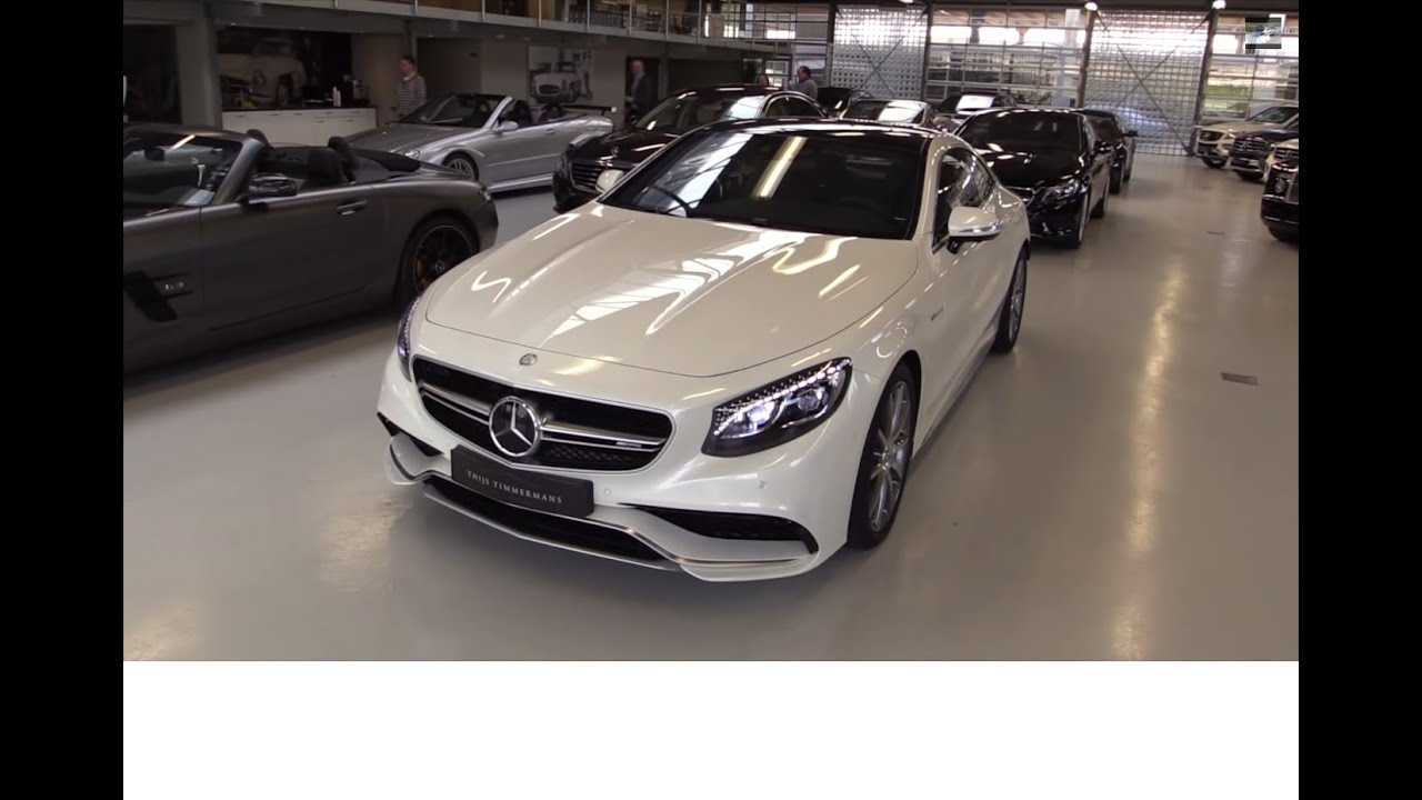 Mercedes-Benz S63 AMG Coupe 2015 Start Up In Depth Review Interior ...