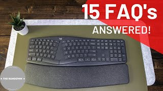 Logitech ERGO K860 - Keyboard FAQ's 2021