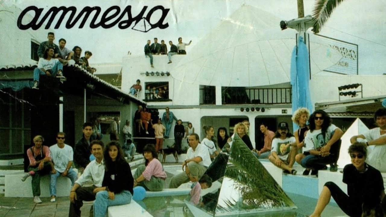 Resultado de imagem para amnesia ibiza 90s
