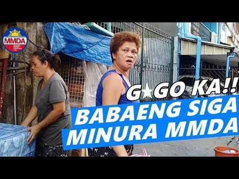SI NANAY MINURA MGA MMDA (PASAY BACLARAN CLEARING OPERATION)