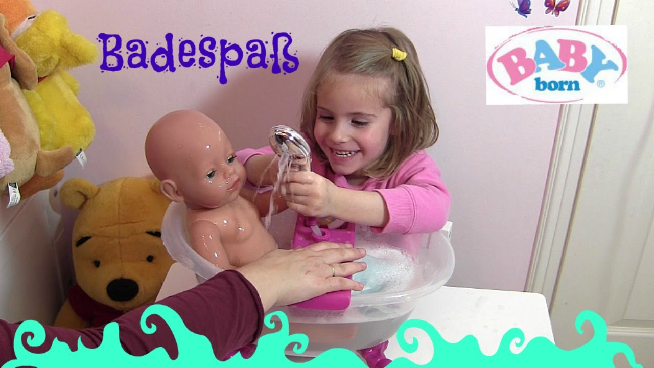 baby born badewanne video