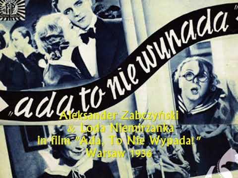 Old Polish Tango: Wiera Gran  - Nie kochać w taką noc to grzech, c 1952