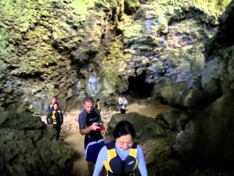 Blue cave on Ishigaki island part2